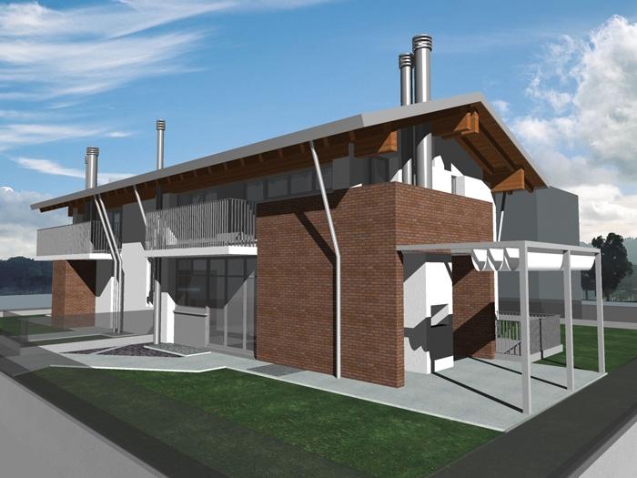 Casa gfm nuova costruzione fabbricato residenziale - Condensa in casa nuova costruzione ...